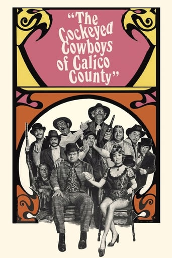 Poster of The Cockeyed Cowboys of Calico County