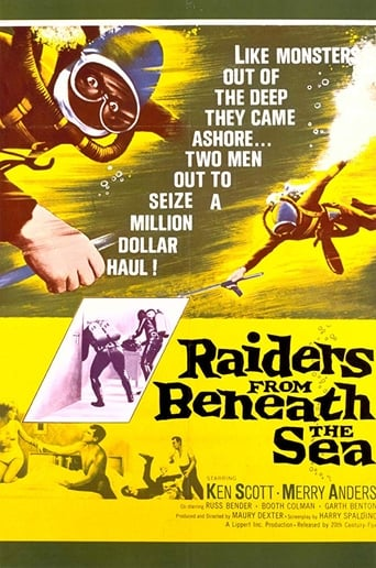 Poster of Raiders from Beneath the Sea