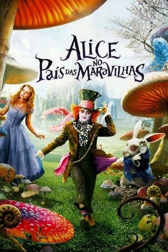 Alice no País das Maravilhas - Poster