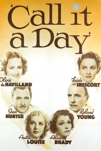 Poster of Call It a Day
