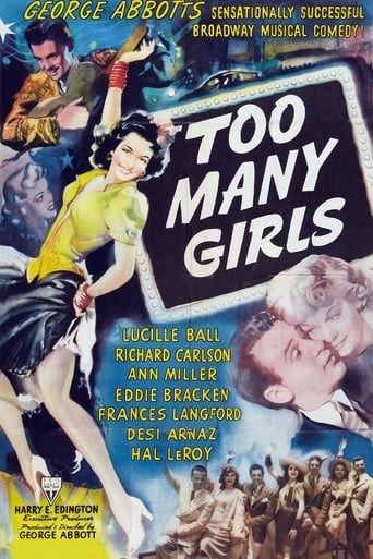 Poster of Too Many Girls