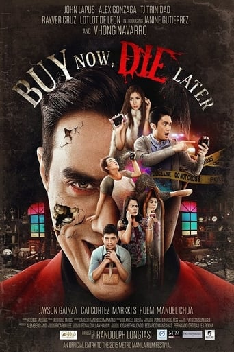 Poster of Buy Now, Die Later