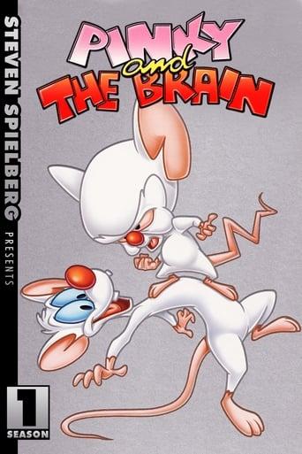 Pinky e o Cérebro 1ª Temporada - Poster