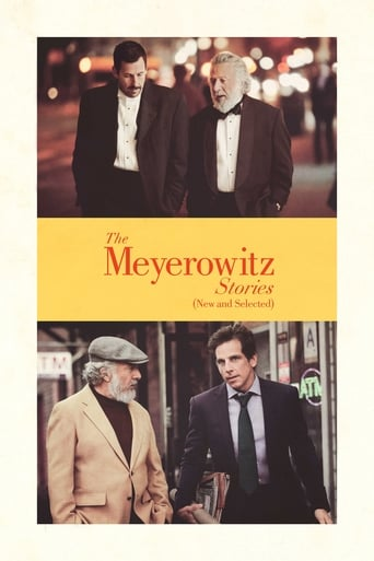 Poster of The Meyerowitz Stories
