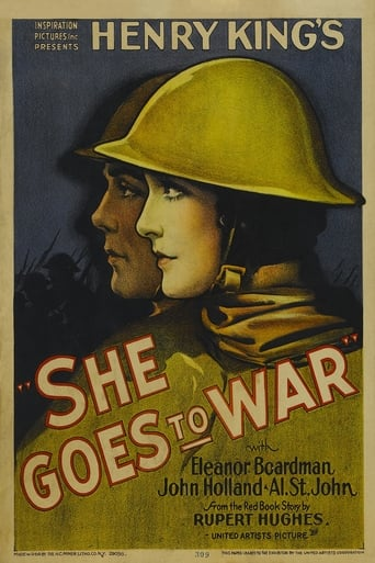 Poster of She Goes to War