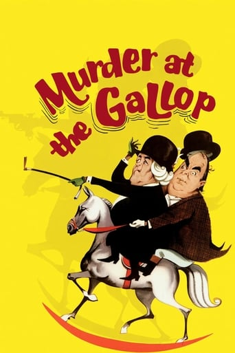 Poster of Murder at the Gallop