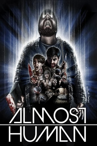 Almost Human (2013) - poster