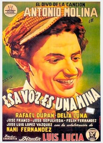 Poster of Esa voz es una mina