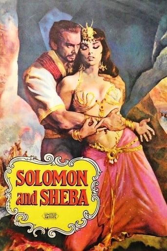 Poster of Solomon and Sheba