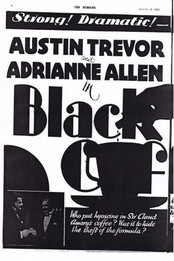 Poster of Black Coffee