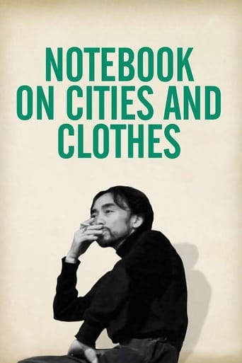Poster of Notebook on Cities and Clothes