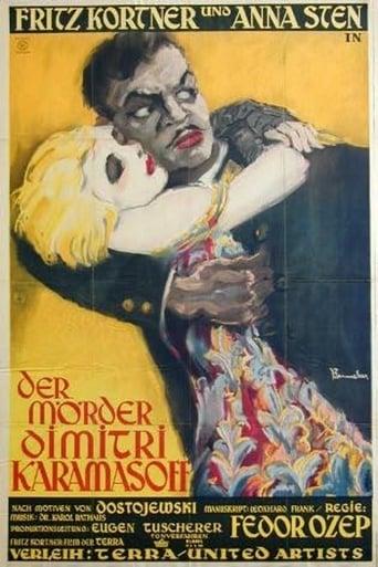The Death of Dmitri Karamazov Movie Poster
