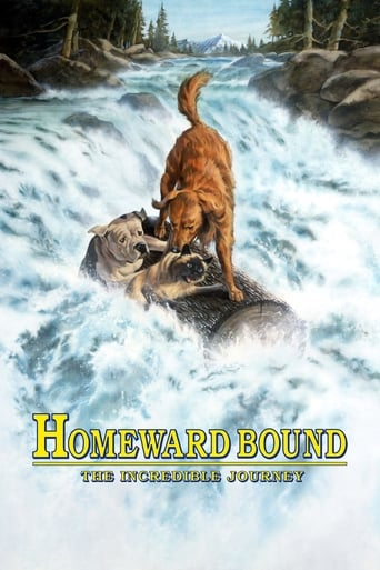 Poster Homeward Bound: The Incredible Journey