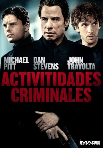 Poster of Actividades criminales