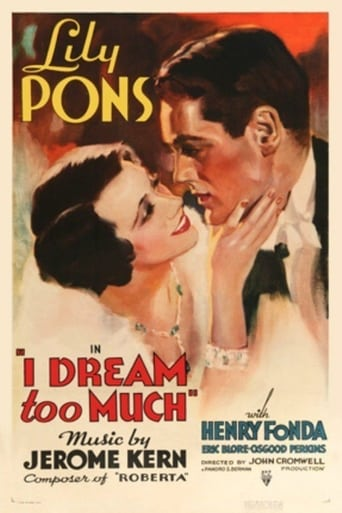 Poster of I Dream Too Much