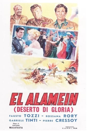 Poster of The Tanks of El Alamein