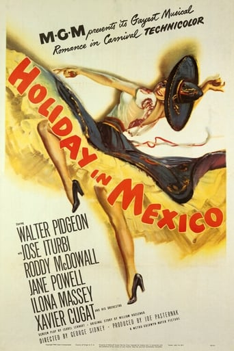 Poster of Holiday in Mexico