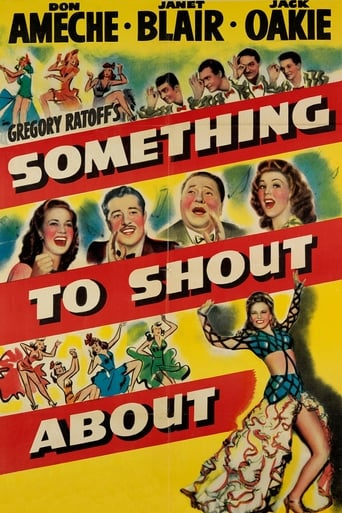 Poster of Something to Shout About