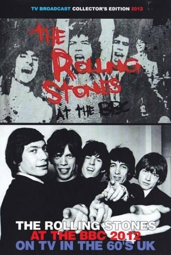 Poster of The Rolling Stones at the BBC
