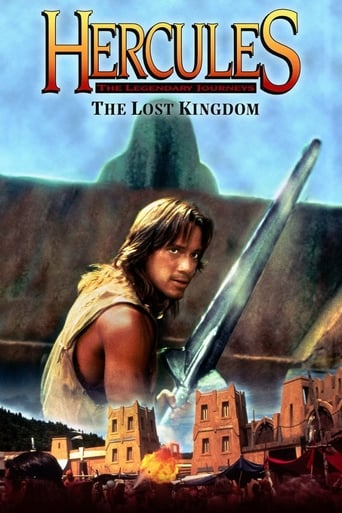 Poster of Hercules and the Lost Kingdom