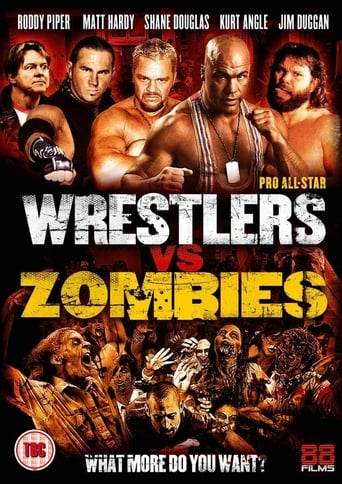Poster of Pro Wrestlers vs Zombies