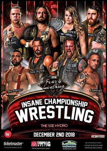 Poster of ICW Fear and Loathing XI