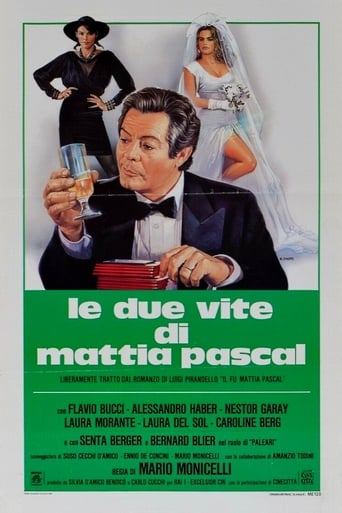 Poster of The Two Lives of Mattia Pascal