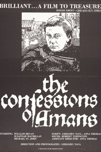 Poster of The Confessions of Amans