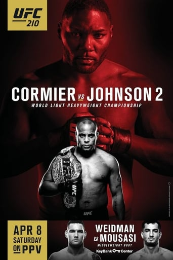 UFC 210: Cormier vs. Johnson 2 Movie Poster