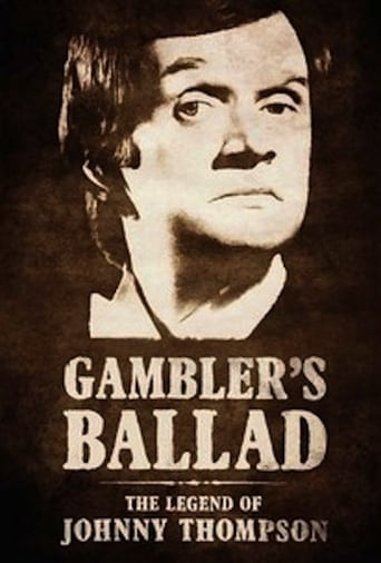 Poster of Gambler's Ballad: The Legend of Johnny Thompson