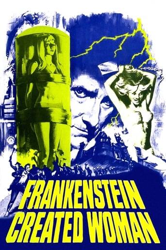 Poster of Frankenstein creó a la mujer