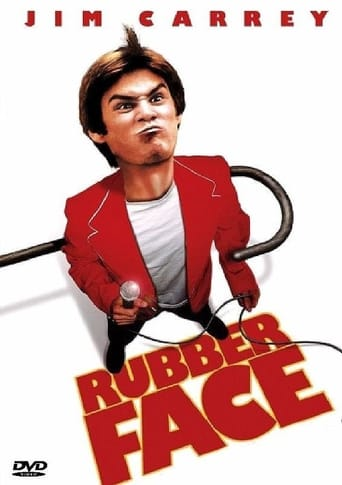 Official movie poster for Rubberface (1981)