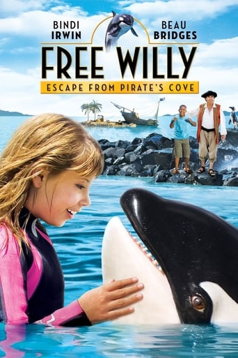 Poster of Free Willy: Escape from Pirate's Cove
