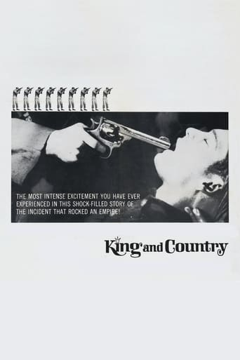 King & Country (1964) - poster
