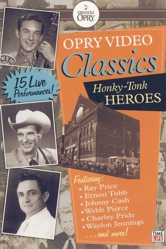 Poster of Opry Video Classics: Honky-Tonk Heroes