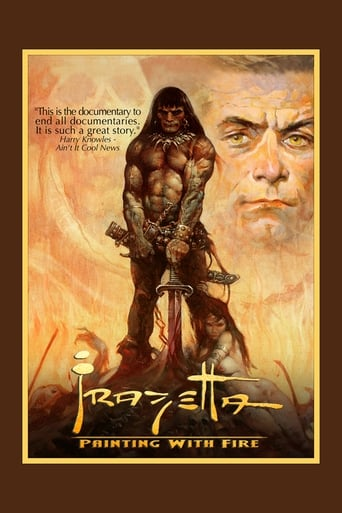 Poster of Frazetta: Painting with Fire