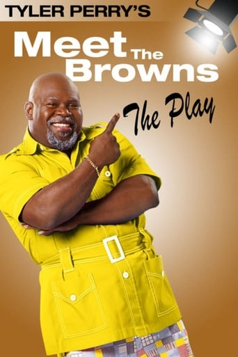 Poster of Tyler Perry's Meet The Browns - The Play