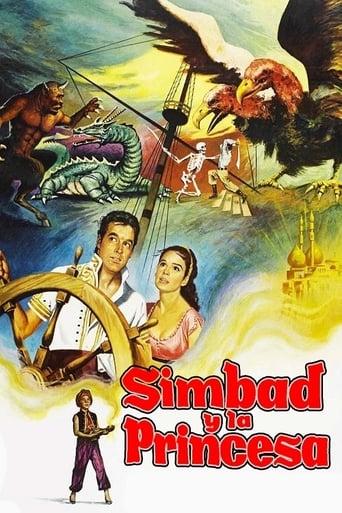 Poster of Simbad y la princesa