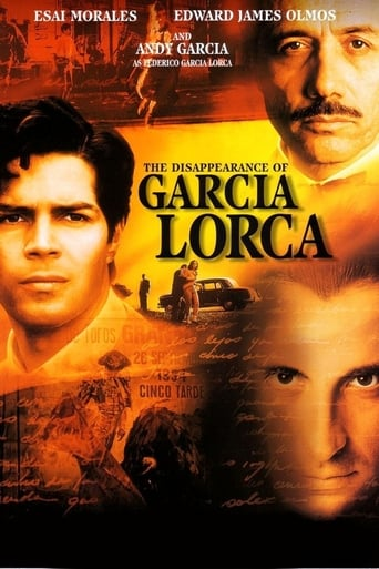 Poster of The Disappearance of Garcia Lorca