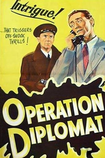 Poster of Operation Diplomat