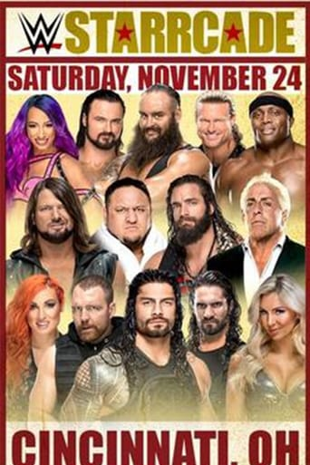 Poster of WWE Starrcade 2018