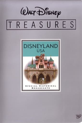 Poster of Walt Disney Treasures - Disneyland USA