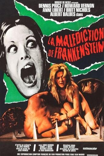 Eine Jungfrau in den Krallen von Frankenstein