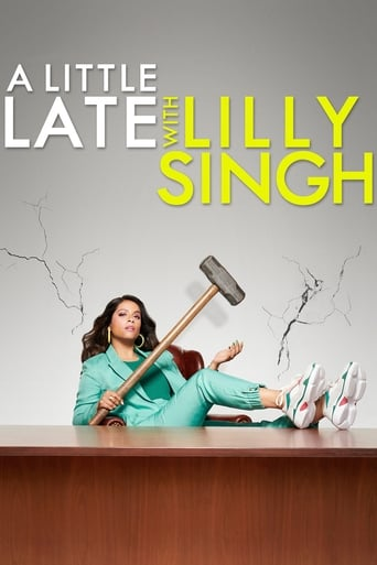 Poster of A Little Late with Lilly Singh