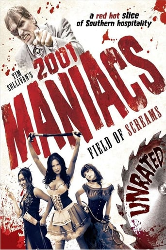 Poster of 2001 Maniacs: Field of Screams