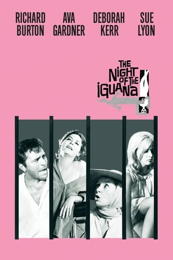 poster of The Night of the Iguana