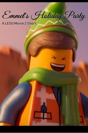 Poster of Emmet's Holiday Party: A Lego Movie Short