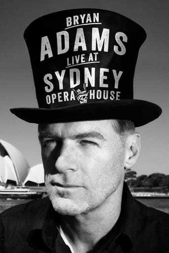 Bryan Adams Live at the Sydney Opera House - Poster