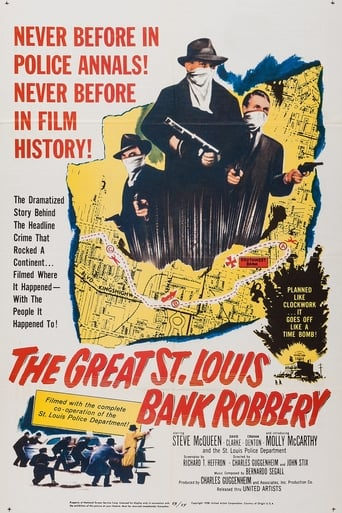 Poster of The Great St. Louis Bank Robbery