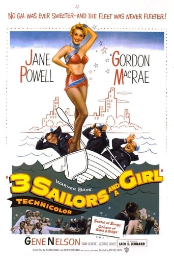 Poster of Three Sailors and a Girl